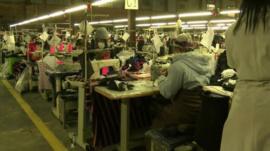 Lesotho garment factory
