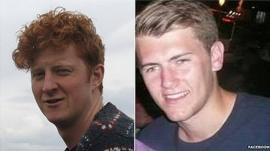Neil Dalton, left and Aidan Brunger