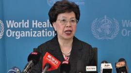 WHO's Director General, Margaret Chan