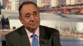 First Minister Alex Salmond MSP