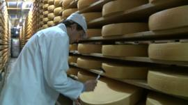 Russia is turning to Switzerland for cheese after sanctions between the EU and Russia