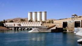 File photo of Mosul dam