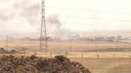 Near the Mosul dam