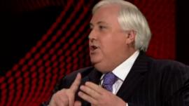 Clive Palmer on AuBC's Q&A