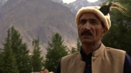 Hassan Sadpara in the mountains