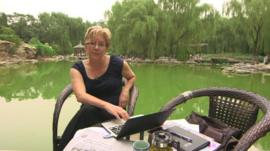 BBC News China Editor Carrie Gracie