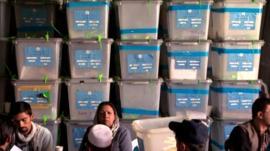 Audit of Afghan votes