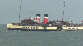 The Waverley off Llandudno