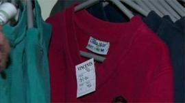 School jumper for sale in St Vincent De Paul shop