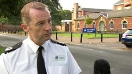 Hampshire Assistant Chief Constable Chris Shead