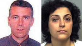 Undated handout photos issued by Hampshire Police of Brett King and Naghemeh King