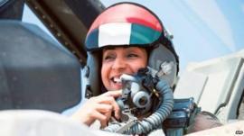 UAE pilot Mariam al-Mansouri