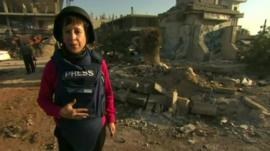 Lyse Doucet in Qusair