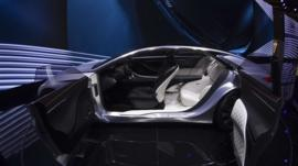 The Q80, a super-luxurious concept car produced by Infiniti