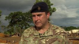 Brig Stephen Mahon of the UK Ebola Task Force