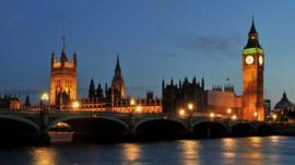 Westminster and the Thames