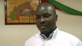Adam Kanazoe, opposition leader: