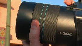 A Lytro Illum camera