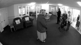 Care home residents