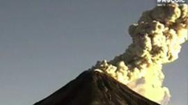Mexico's Colima volcano