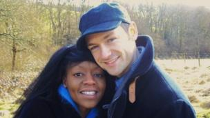 'Ben Brooks Dutton and his wife' from the web at 'http://ichef.bbci.co.uk/news/304/cpsprodpb/064B/production/_86611610_benbrooks1.png'