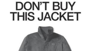 'Patagonia ad' from the web at 'http://ichef.bbci.co.uk/news/304/cpsprodpb/1158C/production/_87125017_don'tbuythisjacket.jpg'