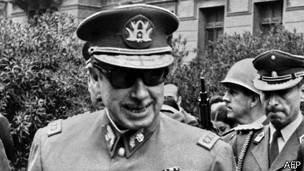 Pinochet em 1973