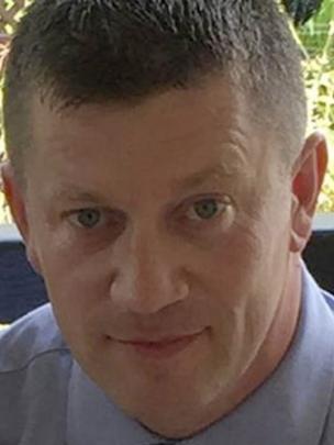 Retrato del agente muerto Keith Palmer, de 48 años.