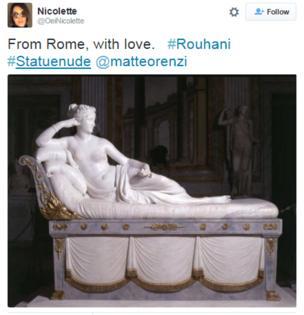 Image of Roman statue