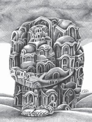 کارتون محسن نوری نجفی، شرق