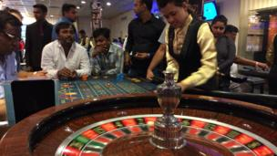 'A casino in Goa' from the web at 'http://ichef.bbci.co.uk/news/304/cpsprodpb/1835/production/_86779160_img_0229.jpg'