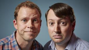 'Robert Webb and David Mitchell' from the web at 'http://ichef.bbci.co.uk/news/304/cpsprodpb/6C7A/production/_86607772_peepshowseries90082150831peepshow89086.jpg'