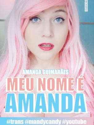 Livro de Amanda foi lançado na Bienal