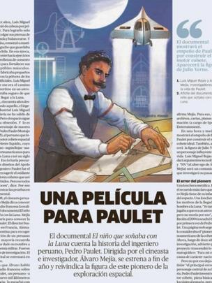 Publicación sobre Paulet