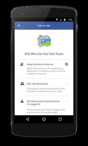 New Facebook tool
