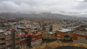 مهران سنندج شهرک بهاران