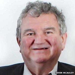 Image caption <b>John Hanna</b> was a retired Ulster Unionist councillor - _83795074_johnhanna2