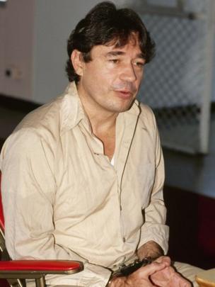 Carlos Lehder en la cárcel de Marion, en EE.UU. (foto de archivo)