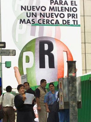 Cartel del Partido Revolucionario Institucional (PRI)