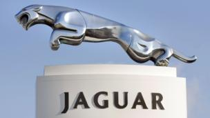 'Jaguar emblem' from the web at 'http://ichef.bbci.co.uk/news/304/cpsprodpb/D1C7/production/_86630735_jag1.jpg'
