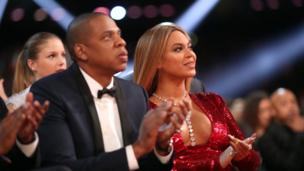 Jay Z with Beyonce