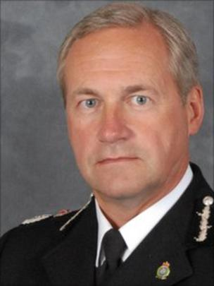 Image caption Chief Constable Paul West wanted to remain in post for a further year - _51965633_paulwest_08_11