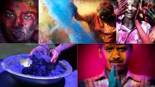 Indians celebrate Holi