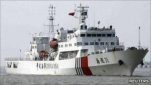 china sends patrol ship into disputed south china sea bbc news china sends patrol ships to islands held by japan 304x171