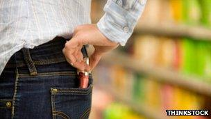 Media Examples of Shoplifting?