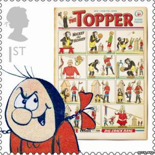 Beryl the Peril stamp