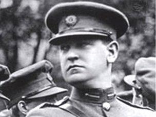 Image caption Michael Collins was shot dead in an ambush in 1922 - _59698885__59164566_michael-collins-1