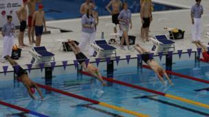 Olympics Aquatic Centre