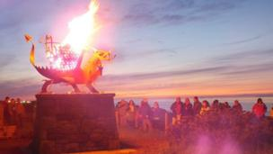 Welsh Dragon Beacon