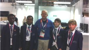 School Reporters with Dave Gordon